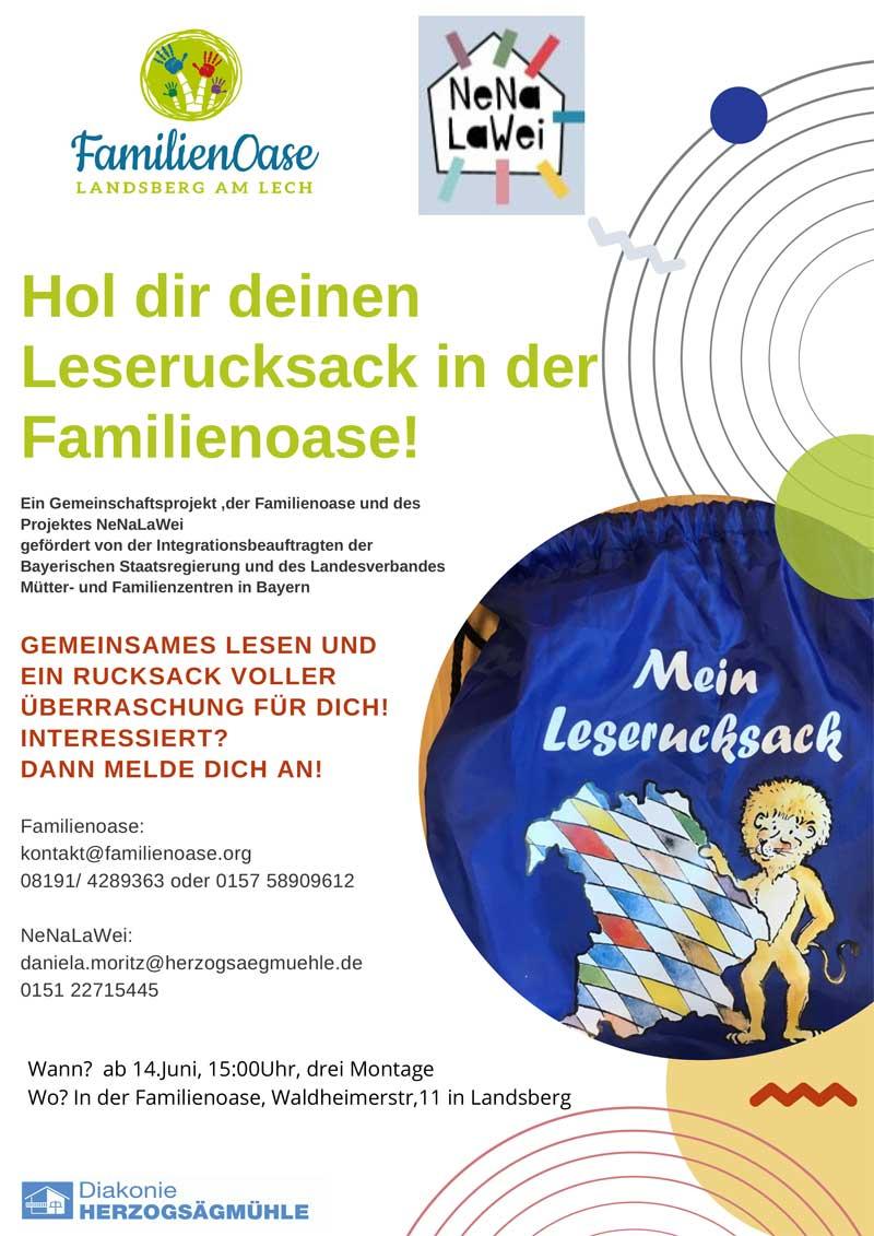 Leserucksack